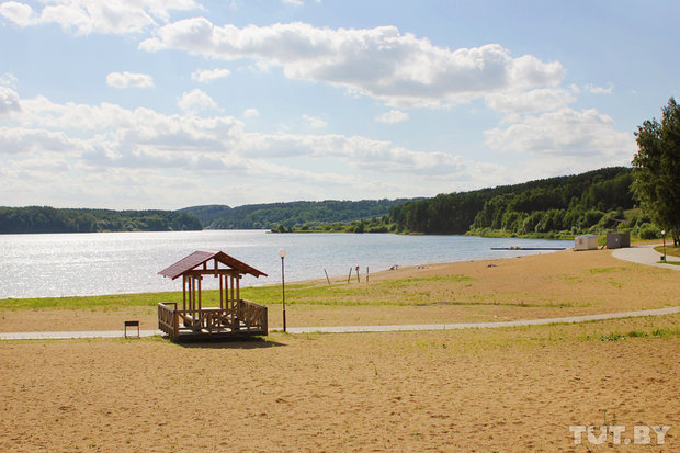 Пляж на Дубровском водохранилище Фото: Анастасия Тур, Елизавета Добрицкая, TUT.BY