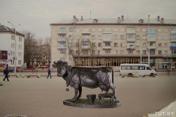 Первоначальное планировавшееся место установки памятника.
