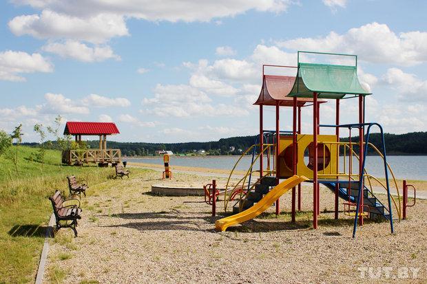Пляж Дубровского водохранилища Фото: Анастасия Тур, Елизавета Добрицкая, TUT.BY