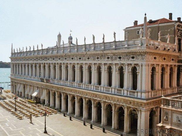 Библиотека Сансовино в Венеции. Фото с сайта architime.ru