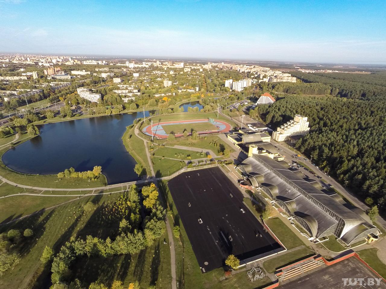 Спортивные объекты на улице Калиновского