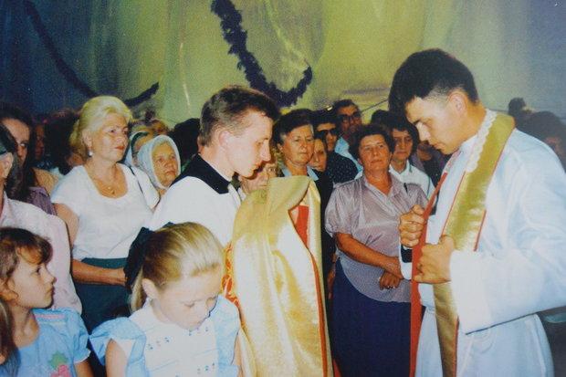 Посвящение ксендза Антония, 9 июля 1995 года. Источник: личный архив.